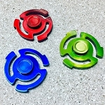 Mr DJ Color Stainless Steel Spinners